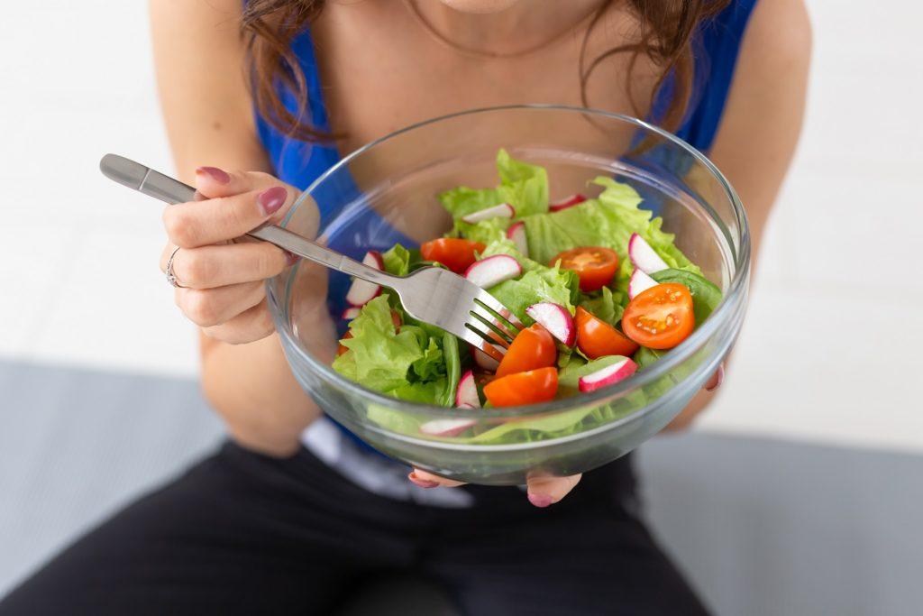 comida sana y buenos alimentos